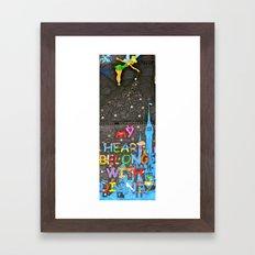 never too old for disney Framed Art Print