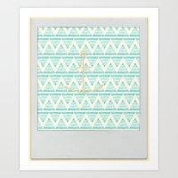 Anchors Art Print