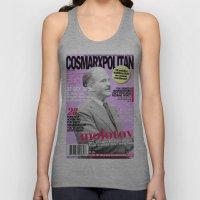 COSMARXPOLITAN, Issue 17 Unisex Tank Top
