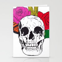 Skull I Stationery Cards