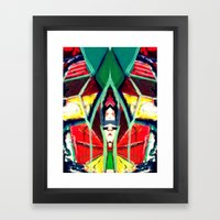 In the Mirror Framed Art Print