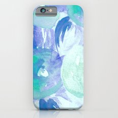 Turquoise Florals iPhone 6 Slim Case
