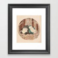 Best Friends Forevah Framed Art Print