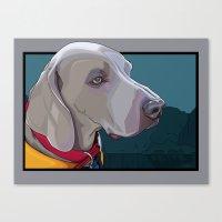 Jake Dog Canvas Print