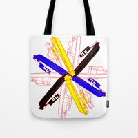 Color Gama Boats Tote Bag