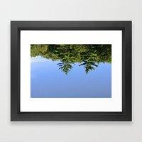 Reflecting At Farrar Pon… Framed Art Print