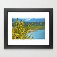beautiful bc Framed Art Print
