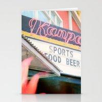 Tropical Kanpai Sports B… Stationery Cards