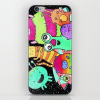 Intergalactic Dance Part… iPhone & iPod Skin