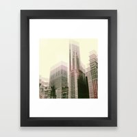 diffused 2 Framed Art Print