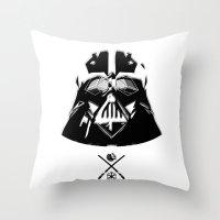 Darth. Throw Pillow