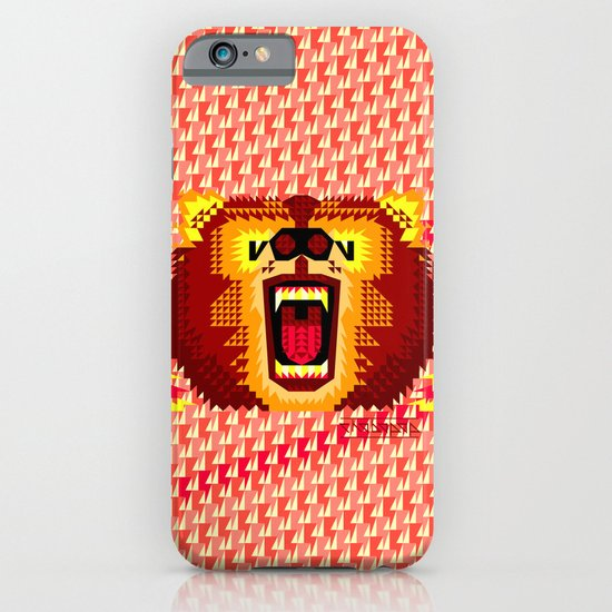 Geometric Bear 2012 iPhone & iPod Case
