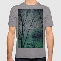 Wintergreen Twilight Mens Fitted Tee Athletic Grey SMALL