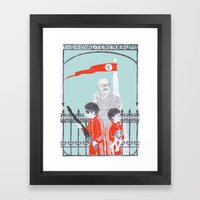 Me And Julio Down By The… Framed Art Print