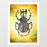 Sr Coprofago - Beetle Sh… Art Print