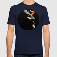 Egyptian Mystery Mens Fitted Tee Navy SMALL
