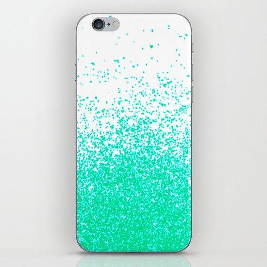 fresh mint flavor iPhone & iPod Skin