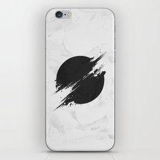 The Sun Is Black iPhone & iPod Skin
