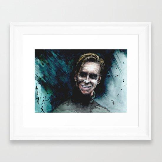 David 8 Framed Art Print