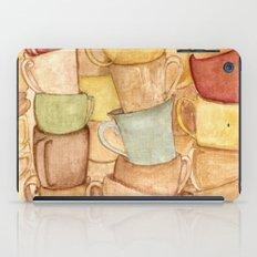 2 espressos iPad Case