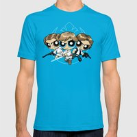 Light Side Mens Fitted Tee Teal SMALL