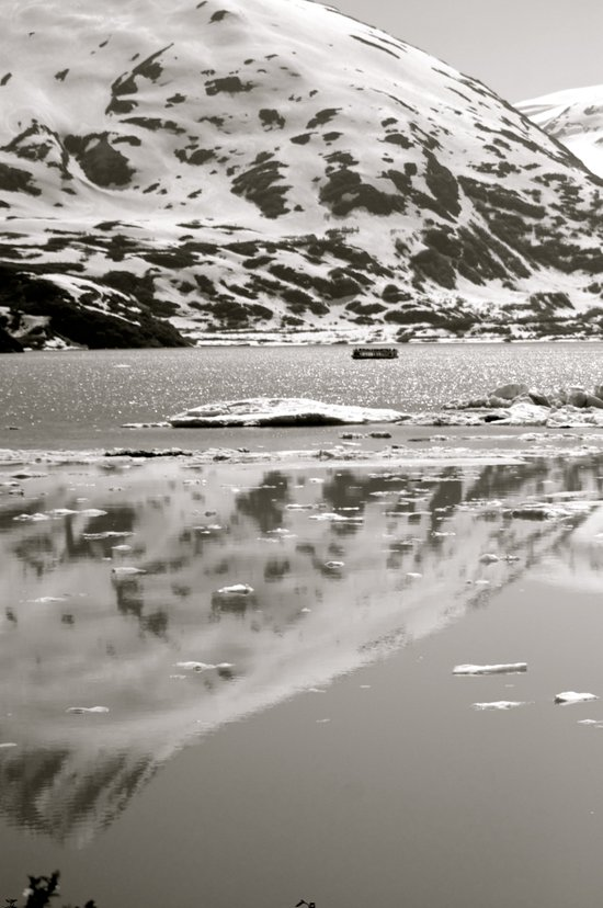 Mountain Reflection Art Print