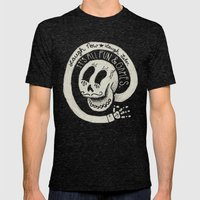 Fun & Games Mens Fitted Tee Tri-Black SMALL