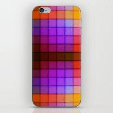 Tagged Autumn Plaid no21 iPhone & iPod Skin