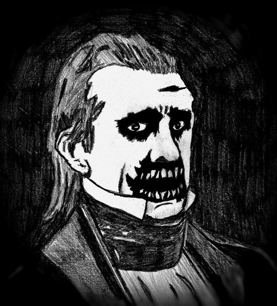 11. Zombie James K. Polk  Art Print