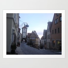Rotenburg Germany Art Print