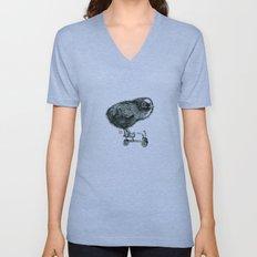 Chick on speed Unisex V-Neck