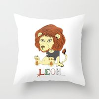 Leon Throw Pillow