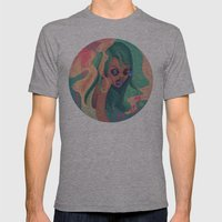 Estribillo Mens Fitted Tee Athletic Grey SMALL