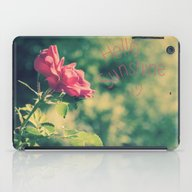 A Pink Rose For You iPad Case