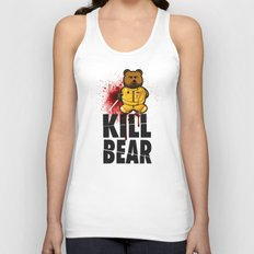 KILL BEAR Unisex Tank Top