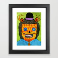 Self Portrait #2 Framed Art Print