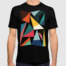 Collection of pointy summit SMALL Mens Fitted Tee Black