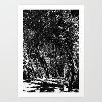 disturb III Art Print