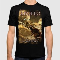Apollo - Cover Art Mens Fitted Tee Black SMALL