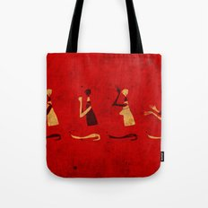 Forms of Prayer - Red Tote Bag
