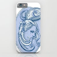 Octopus/girl in blue iPhone 6 Slim Case