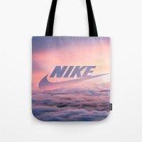 Just Do It (Cloud Edit) Tote Bag