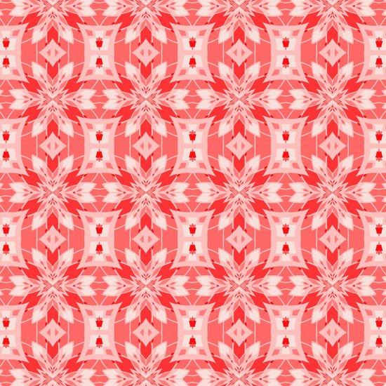 Modern Poinsettia  Art Print