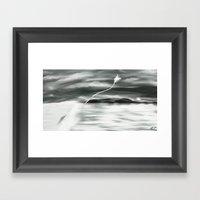 Kite Framed Art Print
