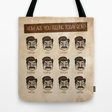 Ron Swanson 5 Tote Bag