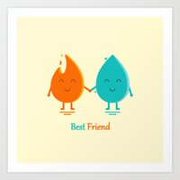 Best Friend Art Print