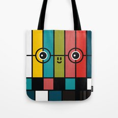 Color Bars Tote Bag