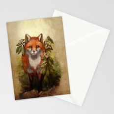 Fox [caming ou of the woods] Stationery Cards