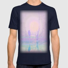 Grace Mens Fitted Tee Navy SMALL