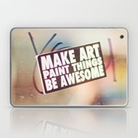 Hello Art Laptop & iPad Skin